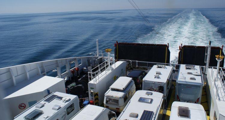 camping-car en ferry